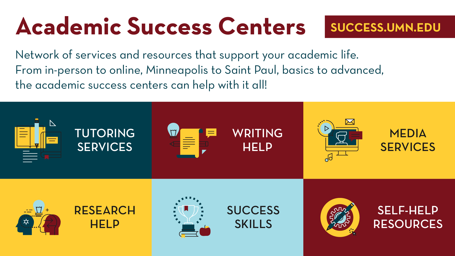 Academic Success Centers Promo Slide