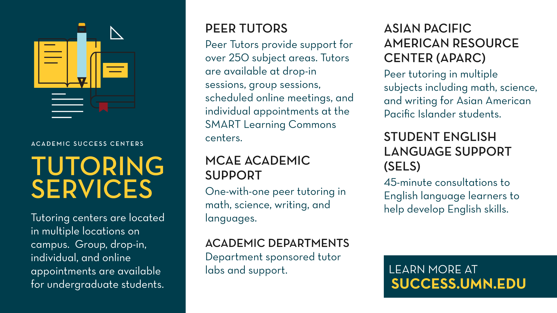 Tutoring Services Promo Slide