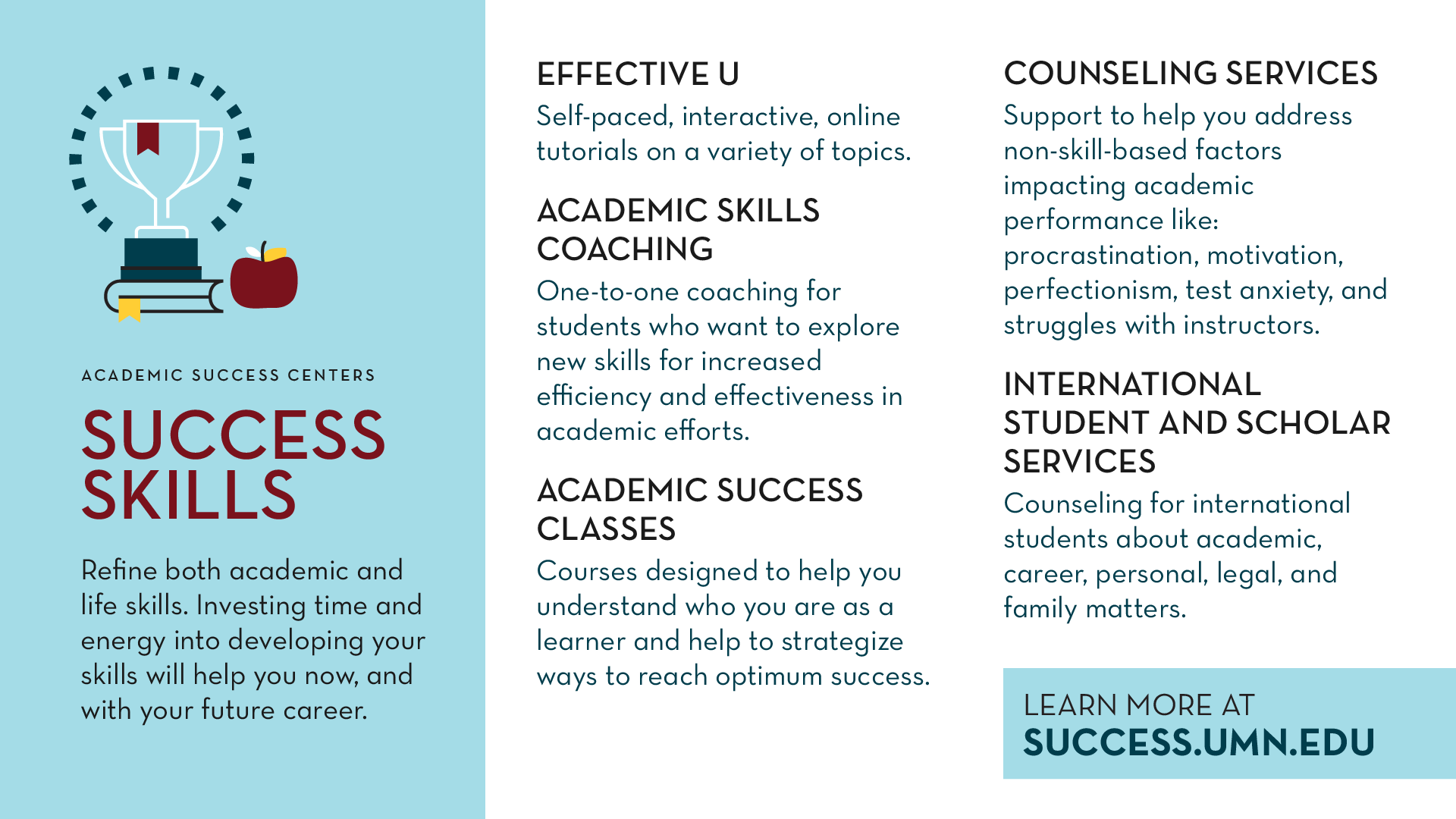 Success Skills Promo Slide